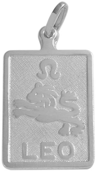 Sterling Silver Leo Zodiac Pendant